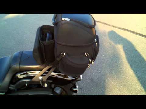 Yamaha Stryker With Kuryakyn Gran Tour Bag And Quick