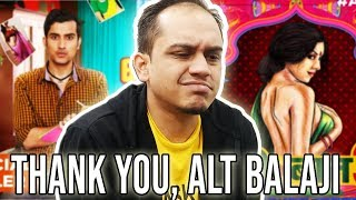 ALT BALAJI - VIRGIN BHASKAR AUR GANDI BAAT 3 (TRAILER REVIEW)