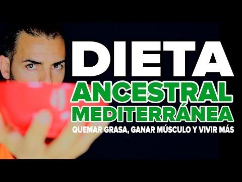 Dieta Para Adelgazar, Ganar Masa Muscular Y Vivir Más: Dieta Ancestral Mediterránea (D.A.M.)