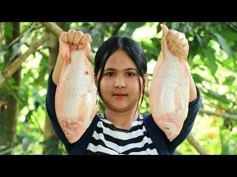 Awesome Cooking Grilled Red Fish Dilecious Cook Recipe - Yummy Eating Show No Talking