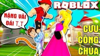 Roblox   THAY MARIO CỨU CÔNG CHÚA BỊ THẰNG VAMY HỐT - Super Mario Obby   KiA Phạm