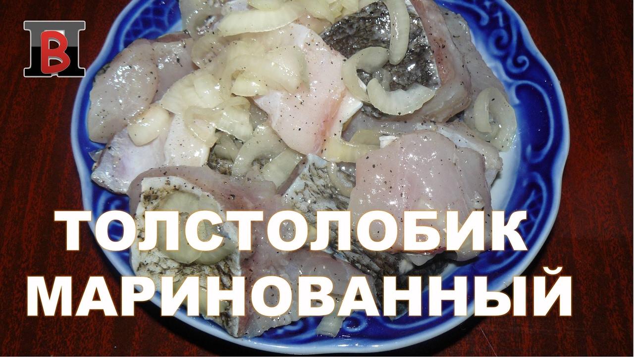 Мариновать рыбу толстолобика рецепт