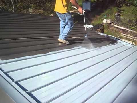 Metal Roof Restoration Alabama Wmv Youtube