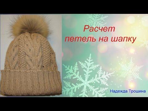 Сколько нужно петель вязания шапки 43