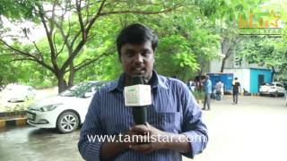 Ram Manoj Kumar At Saveetha College For Aadhiyan Movie Promotion
