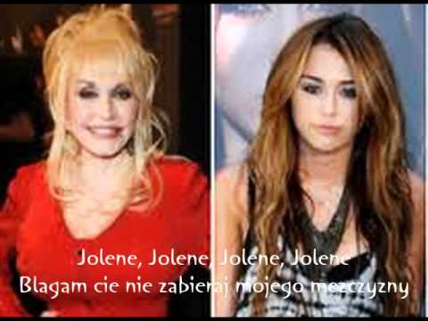 Miley Cyrus Feat Dolly Parton - Jolene Tlumacz Pl video