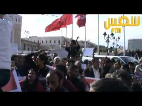 image vid�o الجبهـــة الشعبية :مسيرة احتجاجية تنديدا بإتفاقية
