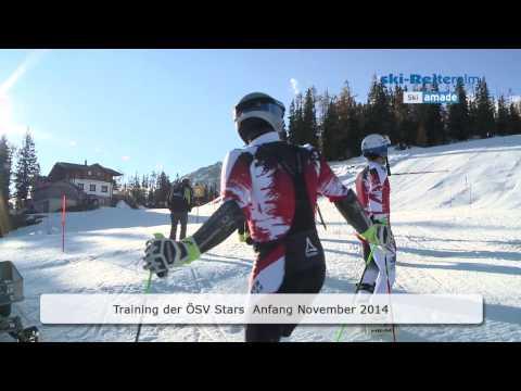 Schladming - Ski amadé - Ski Reiteralm - Training Hirscher & Fenninger!