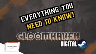 Eveything You Need To Know About Gloomhaven Digital! Release Date and More!!