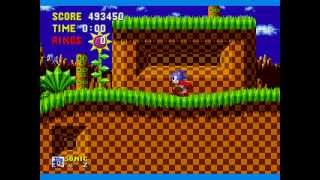 Sonic The Hedgehog Speed Run 13:03 any% SS (Non-TAS)