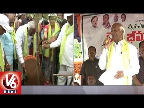 Dy CM Kadiyam Srihari Participates In Haritha Haram Program At Nagaram | Warangal | V6 News