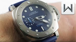 Panerai Luminor Submersible 1950 BMG-Tech PAM 692 Luxury Watch Review