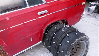 WHEELS AS A GAZELLE WITH BOLTS ON LIVING