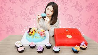 E38 How to make fondant cakes in office? | Ms Yeah
