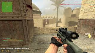 DEATHMATCH DE_DUST2_UNLIMITED COUNTER-STRIKE: SOURCE CSS LESPAPYSAPEROS 21.1.2019