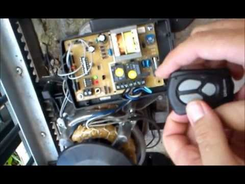 Configuraçao programaçao de controle placa smart (motor Unisystem,Seg ou Garem)