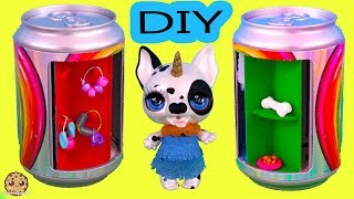 DIY Can Wardrobe Spinning Clothing Closet ! Simple Easy Craft Video