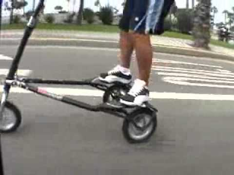 Trikke Ride Along With Jimmy Evans