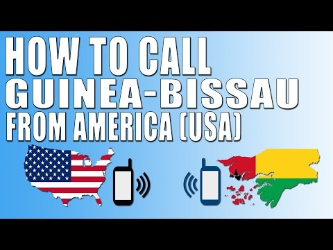 How To Call Guinea Bissau From America (USA)