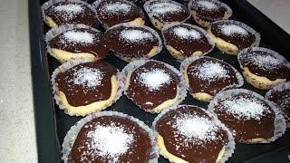 Kağıtlı Pasta - Çikolata Soslu Islak Muffın Tarifi
