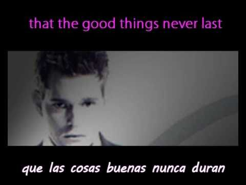 Lost - Michael Bublé (english Lyrics spanish Subtitles) video