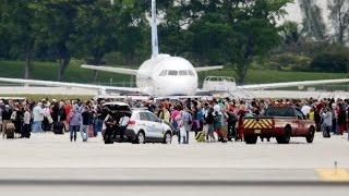Eyewitness to Florida airport shootings