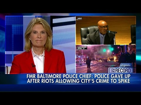 Fired Baltimore Police Commissioner Anthony Batts: Cops 'Took a Knee' After Riots