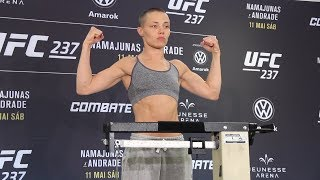 UFC 237 Official Weigh-In Highlights - MMA Fighting