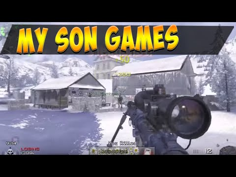 Modern Warfare 2 Tejb Junior  Dual commentary - TDM - intervention