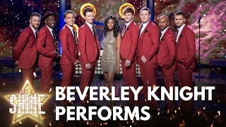 Eight of the boys perform with Beverley Knight  - Let It Shine - BBC One