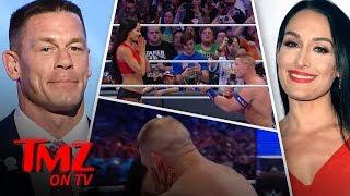 John Cena Nikki Bella Engagement OFF TMZ TV
