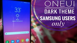 Official S10 OneUI Theme for All Samsung Users (8.0+) | S10 OneUI Theme