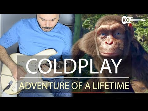 Coldplay - Adventure Of A Lifetime - Electric Guitar by Kfir Ochaion