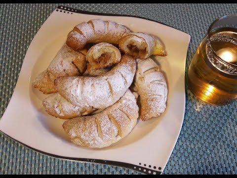 Мягкое яблочное печенье (Рогалики). Elmalı Kurabiye  (Kek Yumuşaklığında) Турецкая кухня