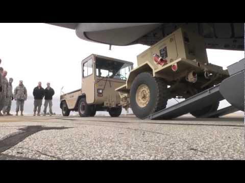 C-27J Spartan Hurricane Sandy Relief