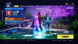 Fortnite battle royal (season 9) us strugaling to get a win