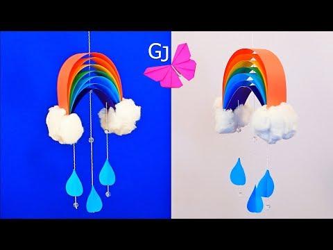 Как сделать поделку радугу 75