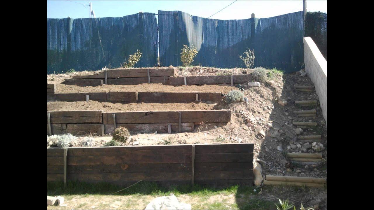amnagement jardin en pente bacs a plantes mai awesome amenagement jardin en pente ideas home. Black Bedroom Furniture Sets. Home Design Ideas