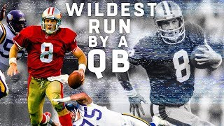 The Wildest QB Run in NFL History | NFL Vault Stories