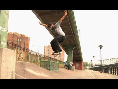 Joey Brezinski prepares for Manny Mania - Skaters in NY 2012 USA - Part 2