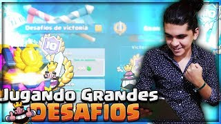 MAZOS PERFECTOS PARA DESAFIOS! FT. #1 @MIKEEL04 PRO PLAYER COACH 1 LINK MEGA 😍 CLASH ROYALE 😎