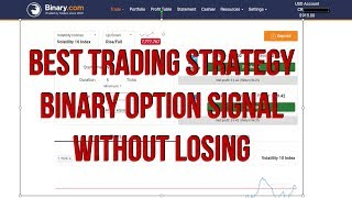 Best Trading Strategy - Binary option Signal Without Losing - RISE FALL STRATEGY BINARY.COM