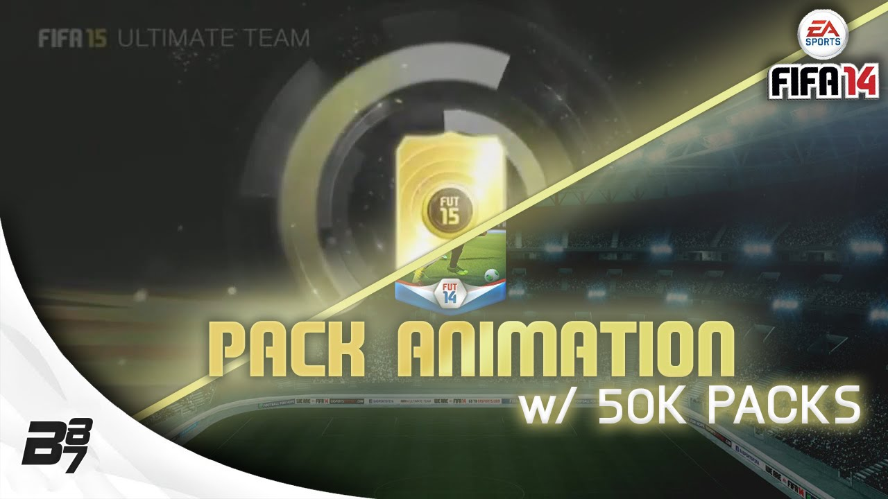 50k packs w fifa 15 pack opening animation fifa 14 ultimate team