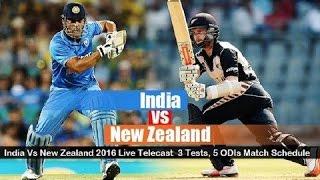 LIVE Match: India vs New Zealand 4th ODI Today Cricket