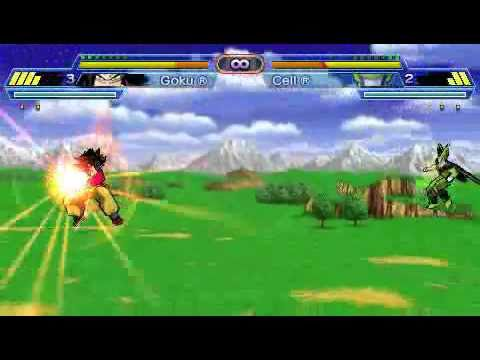 PSP Dragon Ball Z   Shin Budokai Another Road Gameplay