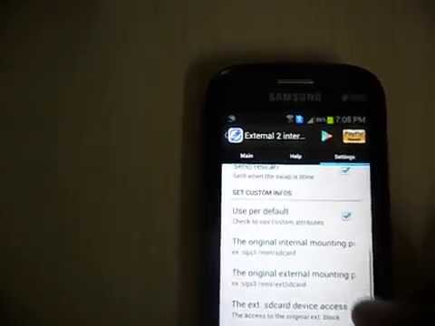 How to Increase Internal Memory of Samsung Galaxy S Duos(GT-S7562)