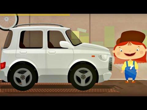 Çizgi film – Doktor Mac Wheelie – Beyaz araba – Türkçe izle