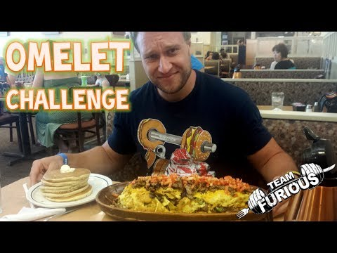 HUGE OMELET CHALLENGE! | Furious Pete