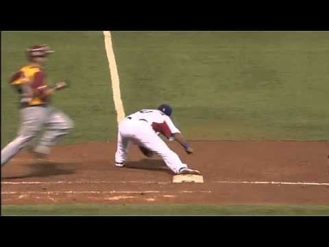 Dominican Republic Vs Venezuela - Doble Play Robinson Cano And Jose Reyes World Baseball 2013