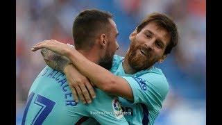 ملخص اهداف مباراة ديبورتيفو ألافيس 0 2 برشلونة شا شة كاملة  HD